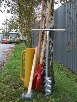Fencing Tools – Post Hole Digger, Post Rammer, Post Maul
